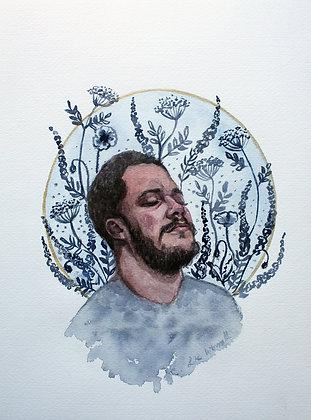 Unearthed Floral Portrait Watercolour Series V