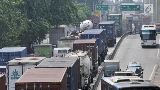 Pengusaha Keluhkan Kemacetan di Tanjung Priok Kian Parah