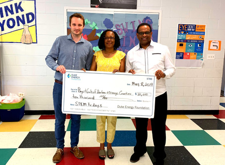 STEM Friday's Continue- Thank you Duke Energy!