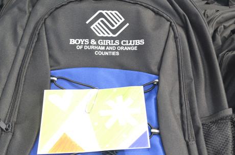 boys & girls club golf tournament gift bag