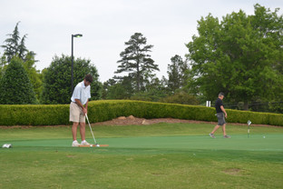 golfer at hope valley country club