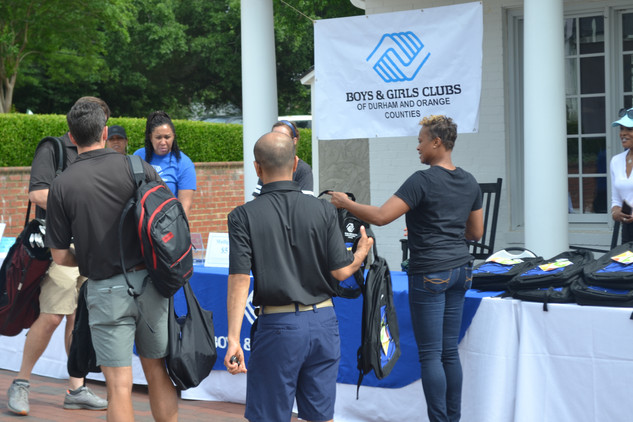 guests at bull city golf classic