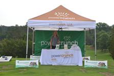 power crunch event sponsor at bull city golf classic