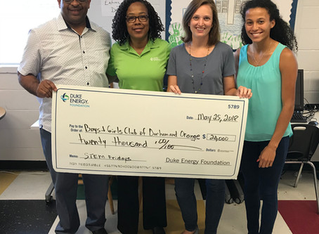 Duke Energy Awards BGCDOC $20,000