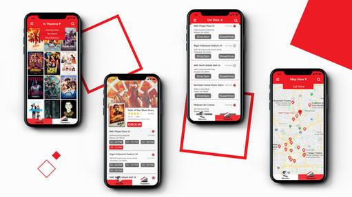 MoviePass interface design