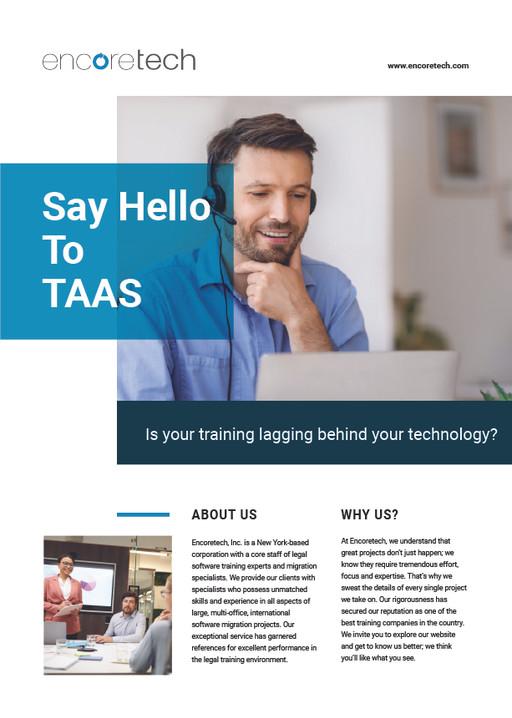 Encoretech Marketing Flyer