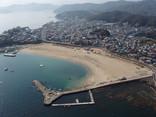 大矢浜海水浴場-空撮