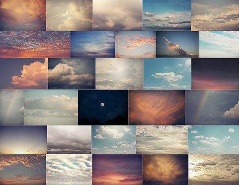 Big Texas Sky Overlays
