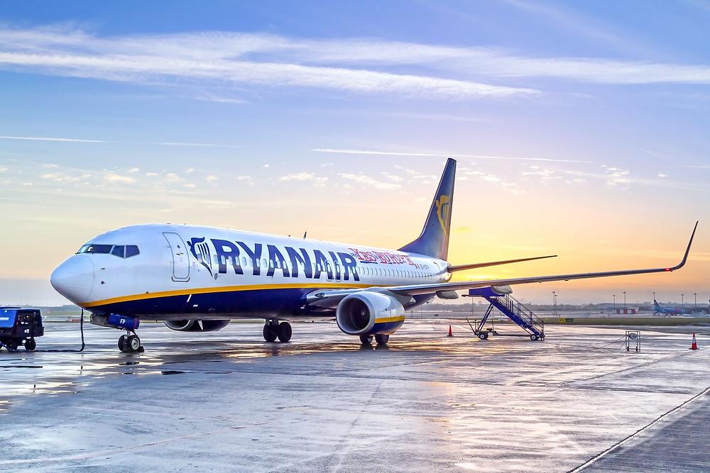 Ryanair знижка скидка