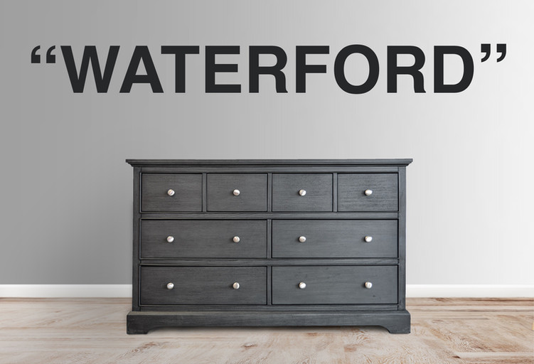 Waterford 8 Drawer Dresser