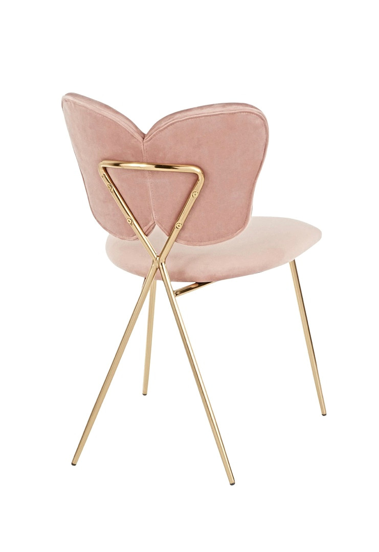 The Pink Butterfly Back Chair