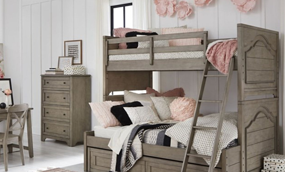 Farm House Twin/Full Bunk Bed