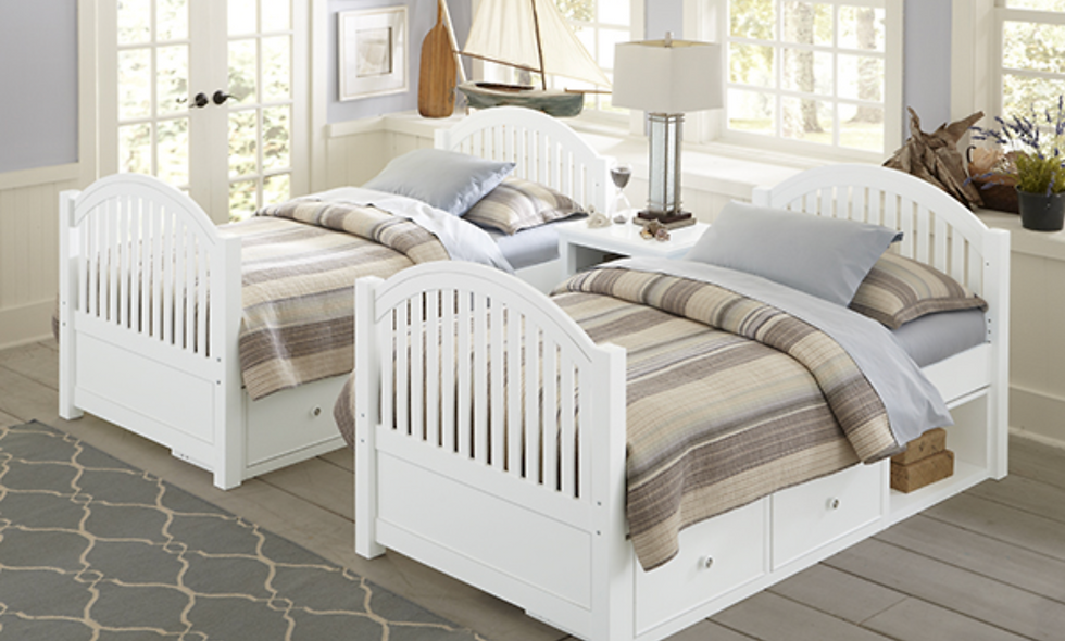 Adrian Bed - White