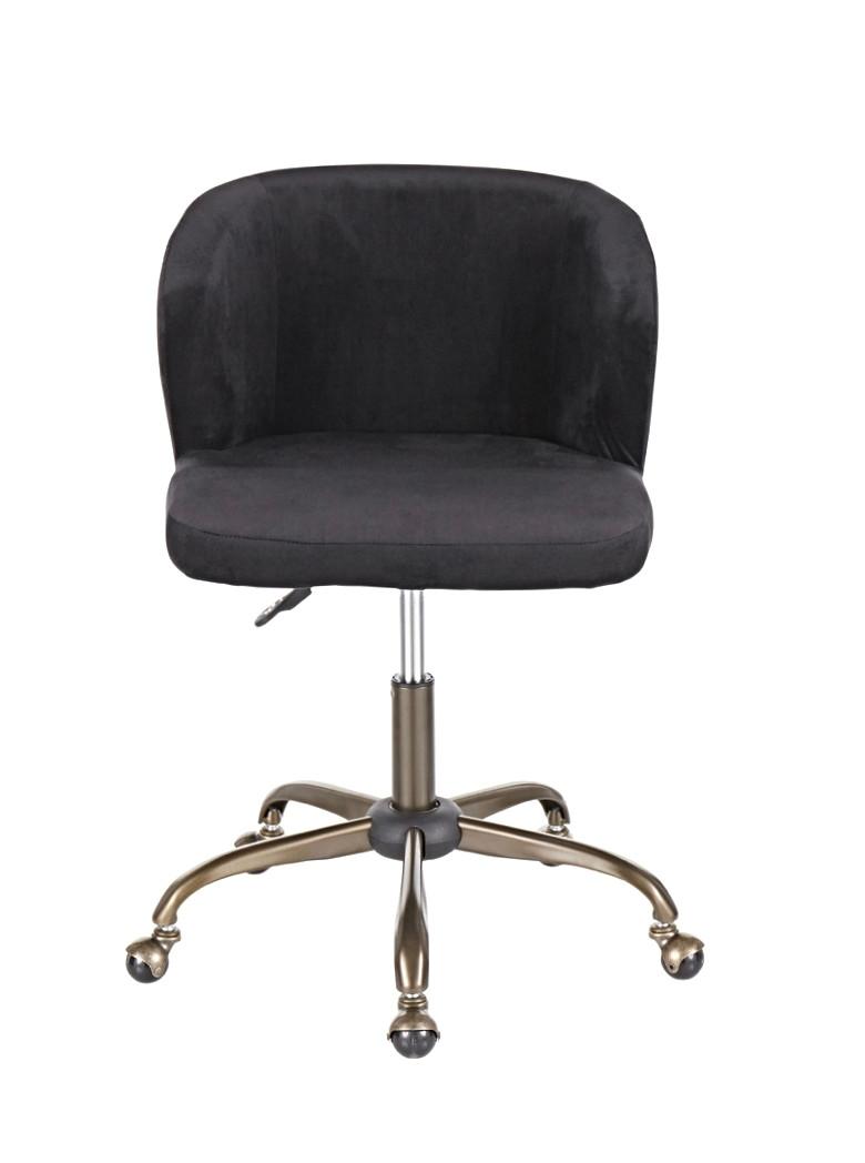The Fran Chair - In Black Velvet