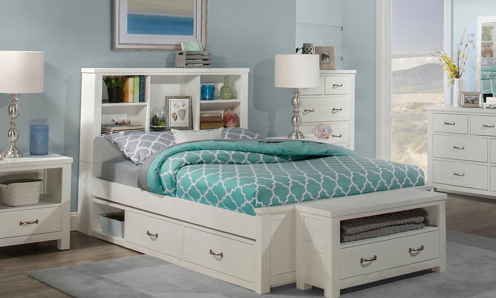 Highlands Full Bookcase Bed