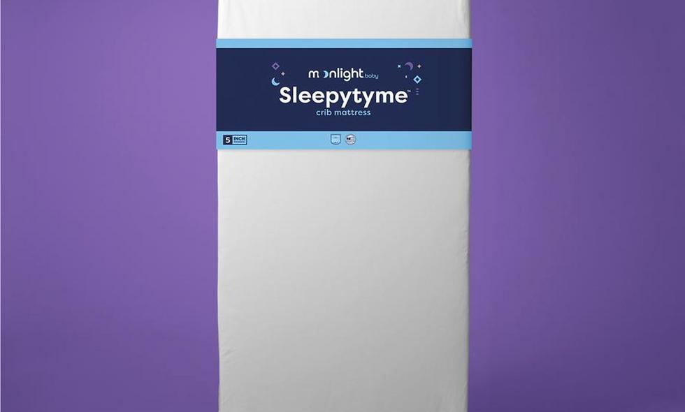 SleepyTyme Crib Mattress by Moonlight