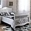 Thumbnail: Pali Diamante Collection Full Bed Rails in Vintage White