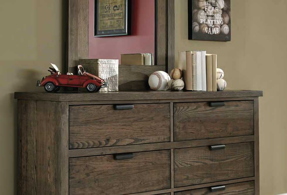 Fulton County 6 Drawer Dresser