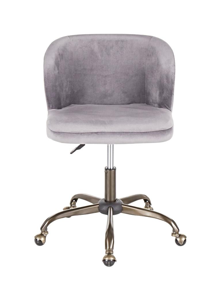 The Fran Chair - In Silver Velvet