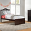 Thumbnail: School House Finlay Twin Bed - Chocolate