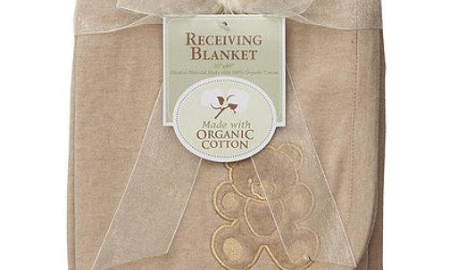 Organic Interlock Receiving Blanket
