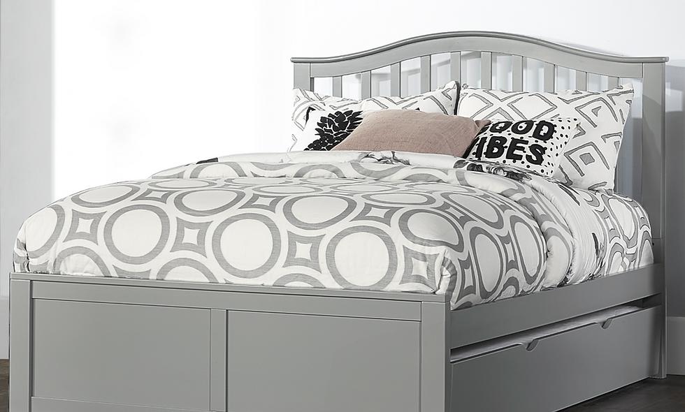 School House Finlay Full Bed - Grey