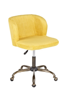 The Fran Chair - In Yellow Corturoy