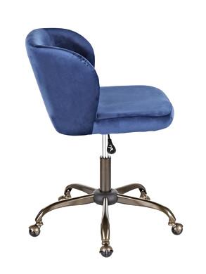 The Fran Chair - In Blue Velvet