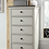 Thumbnail: Brookhaven 5 Drawer Lingerie Chest