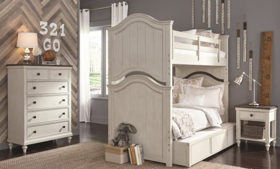 Brookhaven Twin/Twin Bunk Bed