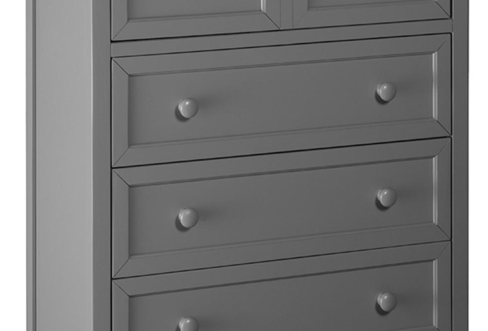 School House Chest - Grey