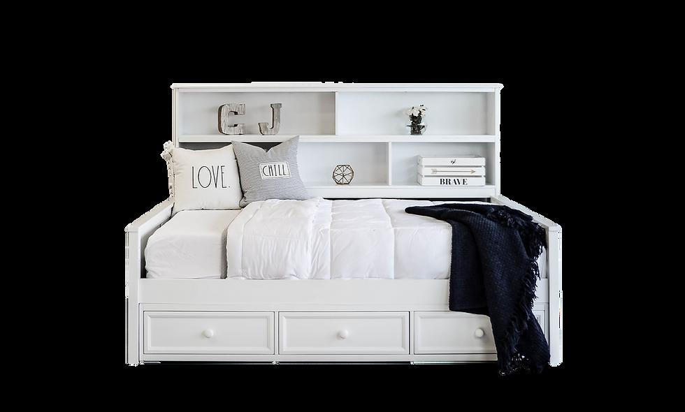 Sideways Bookcase Bed