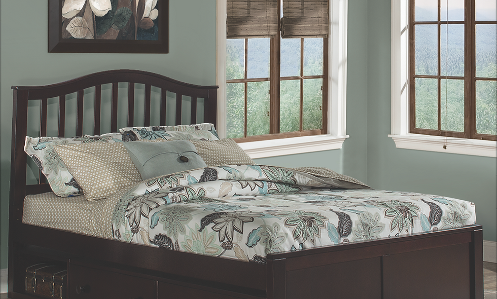 School House Finlay Full Bed - Chocolate