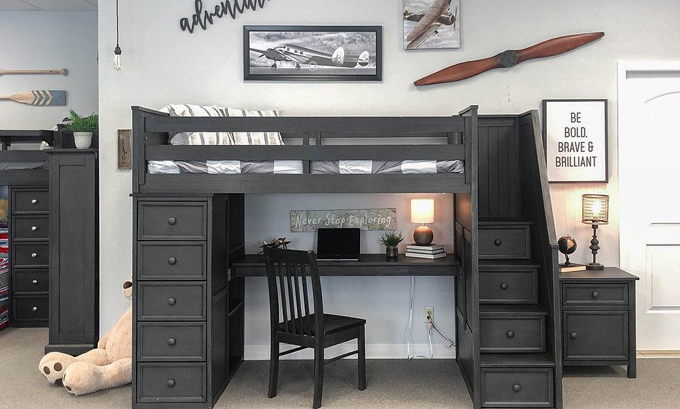 Taylor Loft w/ Desk Option - Floor Model