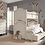 Thumbnail: Brookhaven Twin/Full Bunk Bed
