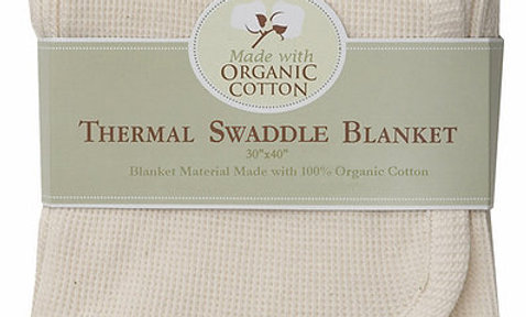 Organic Thermal Swaddle Blanket