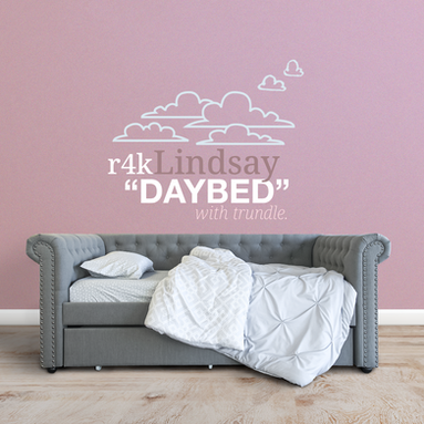 Lindsay Diamond Tufted Upholstered Daybed