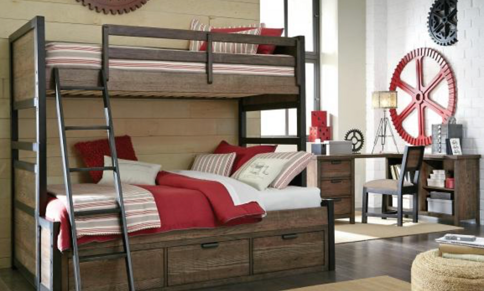 Fulton County Twin/Full Bunk Bed
