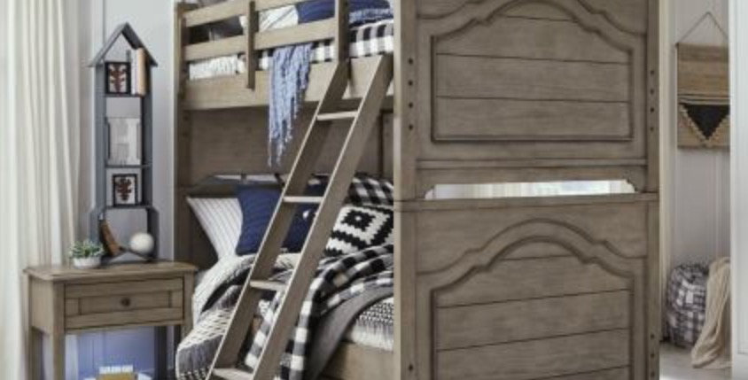 Farm House Twin/Twin Bunk Bed
