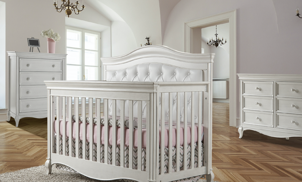 Pali Diamante Collection Upholstered Crib