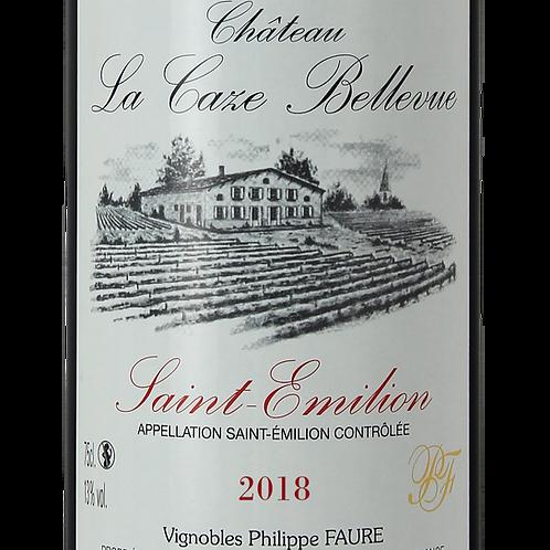 1 Bouteille 75 Cl - Château La Caze Bellevue 2018