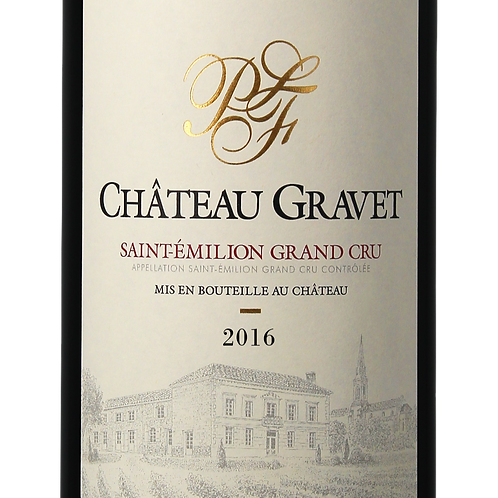 1 Magnum 150 Cl - Château Gravet 2016