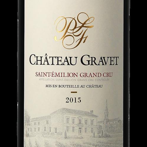 1 Bouteille 75 Cl - Château Gravet 2015