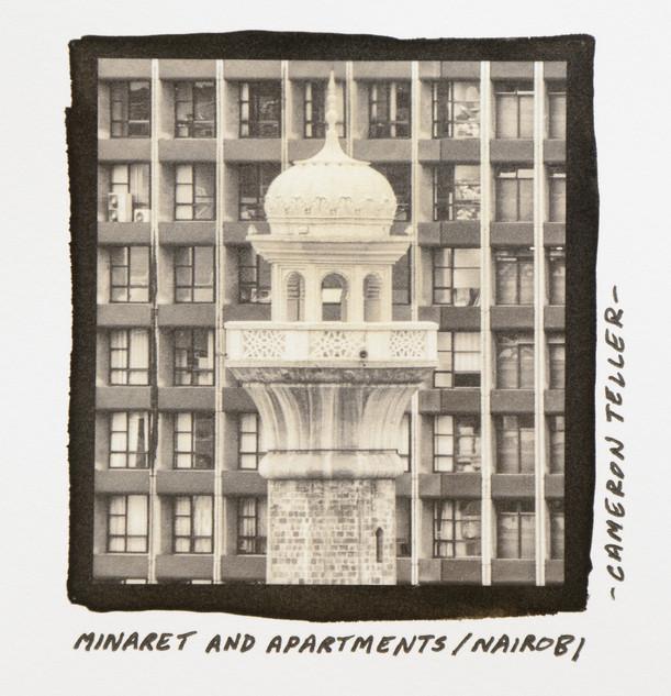 Minaret and Apartments