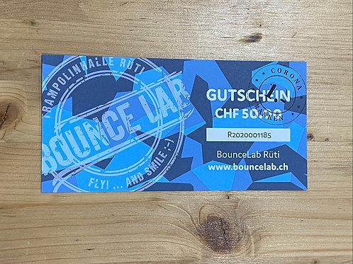 BounceLab  Gutschein à CHF 51.-