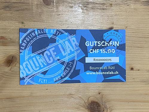 BounceLab  Gutschein à CHF 16.-