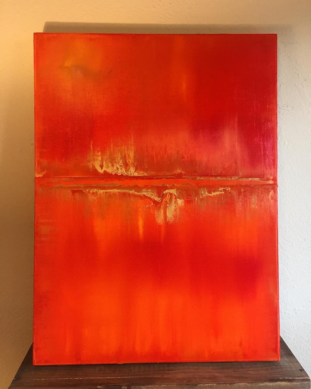 """""""Cadence"""" 18x24"""" Original oil on canvas."""