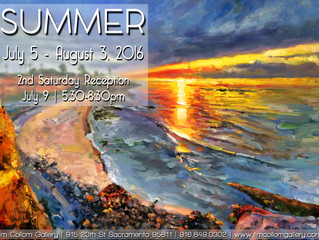 Sumer Group Show at the Tim Collom Gallery!!