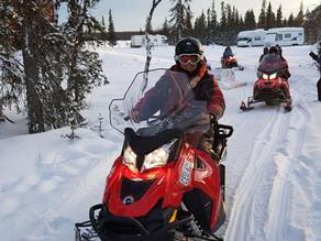 Sneeuwscootertocht Lapland