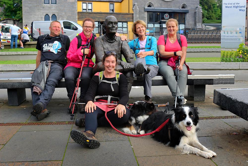 Yes! Finishing The West Highland Way!
